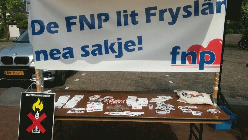De FNP lit Fryslân nea sakje