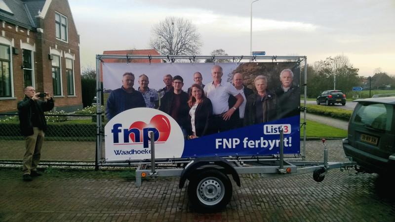 Kampanjekarre Waadhoeke