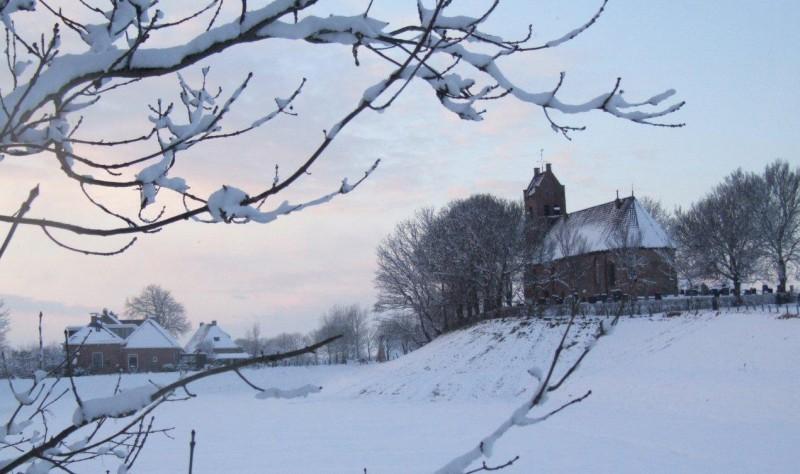 Terp Hegebeintum winter