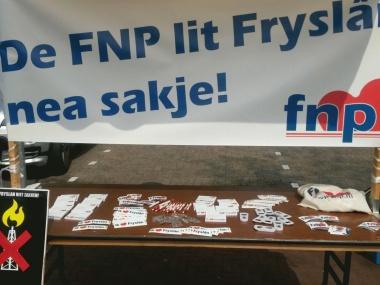 24 febrewaris - Manifestaasje tsjin gaswinning yn Grinslân en Fryslân