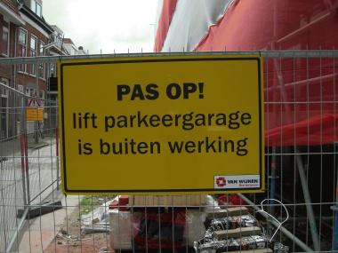 Fraachtekens by hege kosten parkearen provinsje