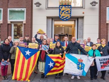 Foto-actie voor Catalanen