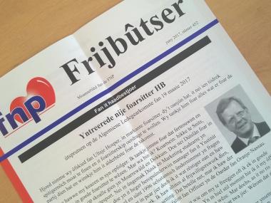 'Ik ben geen plucheplakker' - Cees van Mourik in de Frijbûtser van juni
