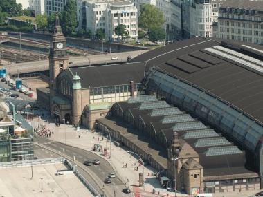 FNP Fryslan Hamburg treinstation1