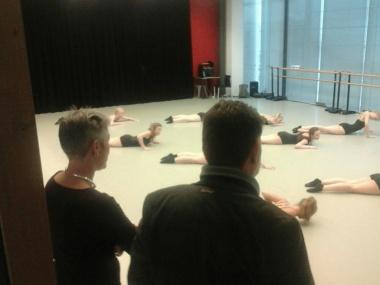 FNP Statenfractie op werkbezoek bij Jeugd Dansopleiding