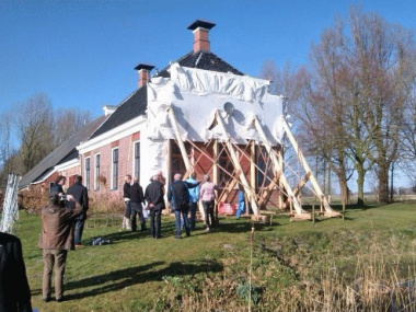 As earth trembles again, Fryslân and Groningen protest against gas extraction