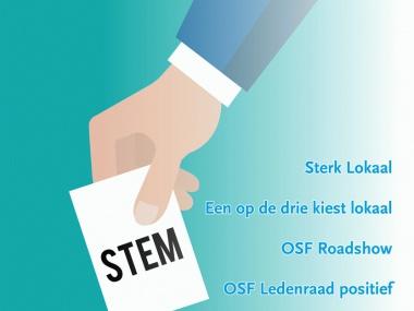 OSF: 'Eén op drie kiest lokaal'