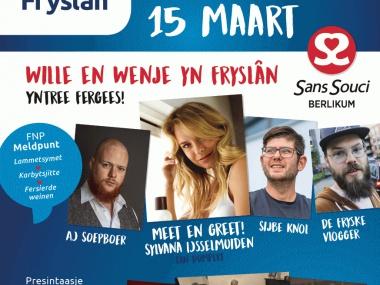 Flyer foar de Jûn Foar Fryslân