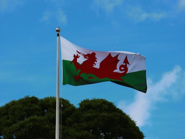 Welske flagge