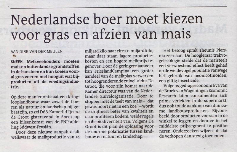 Lc  de nederlandse boer moet kiezen