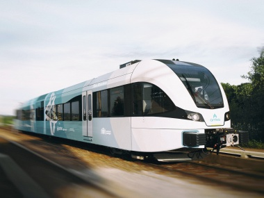 FNP Fryslan Arriva trein
