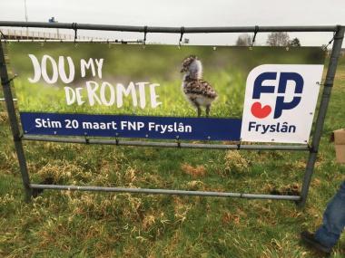 FNP Fryslan Sichtber kampanje