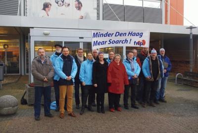 Sionsberg FNP minder Den Haag mear soarch