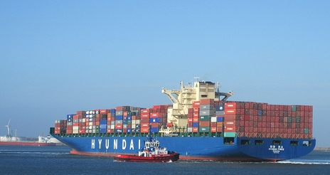 1 containerschip