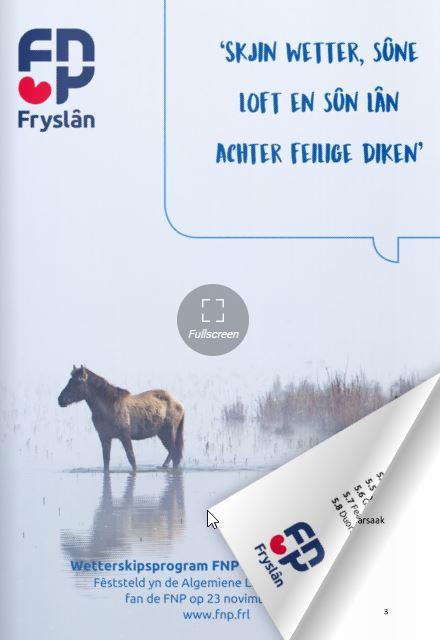 FNP Wetterskipsprogram 2019
