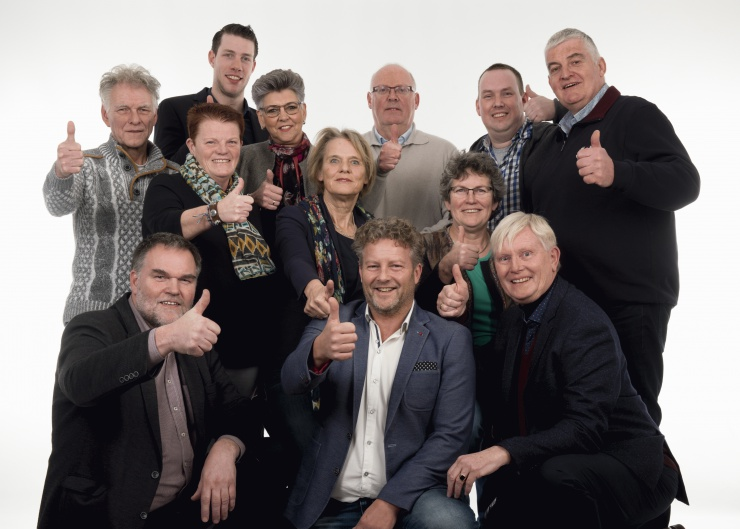 Groepsfoto FNP DFM 2018