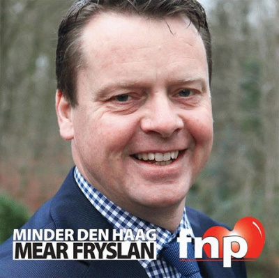 FNP poster 2015 Johannes Minder Den Haag Mear Fryslan