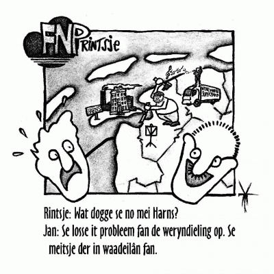 FNPrintsje: Harns status aparte?
