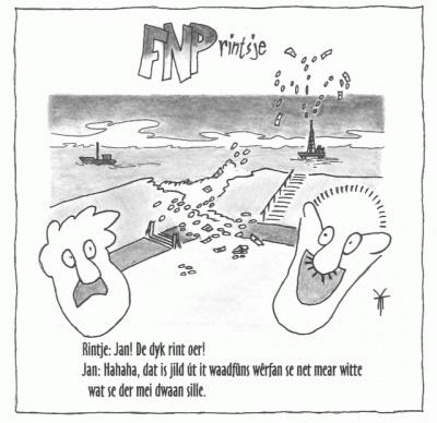 FNPrintsje: De dyk rint oer