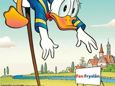 jarig fries Friese Donald Duck groot succes   FNP Jongerein jarig fries