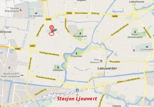 rute Obrechtstrjitte Ljouwert