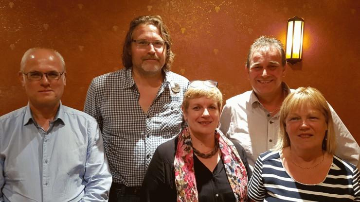 1ste 5 fan de list foar FNP Ljouwert 2017