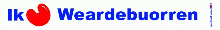 FNP sticker Weardebuorren