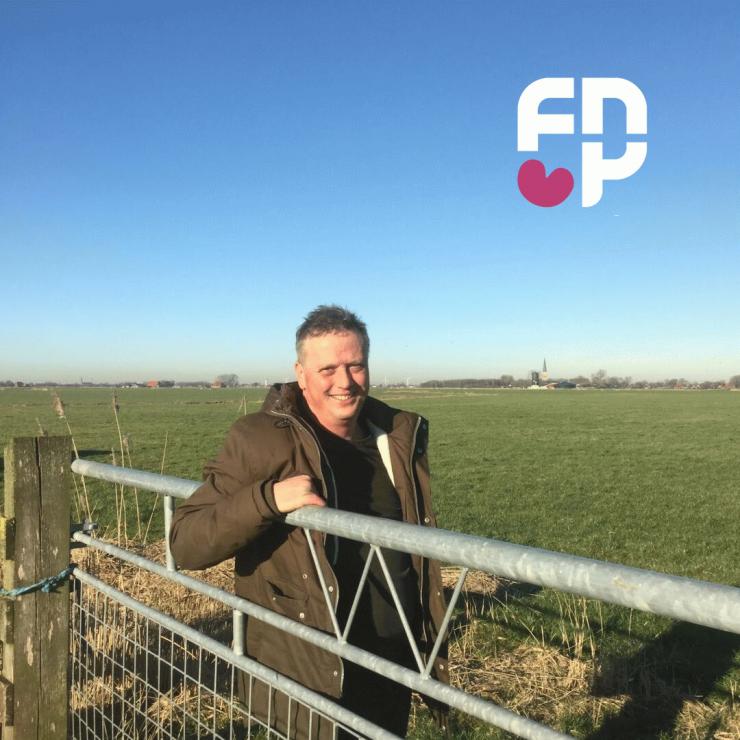 Bert Vollema fraksjefoarsitter FNP Waadhoeke